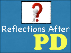 Reflections After PD