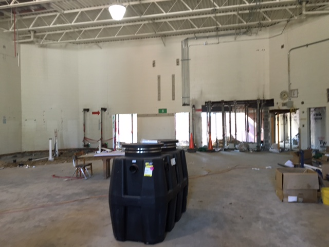 Construction New Cafeteria