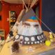 Architecture student model of a tipi