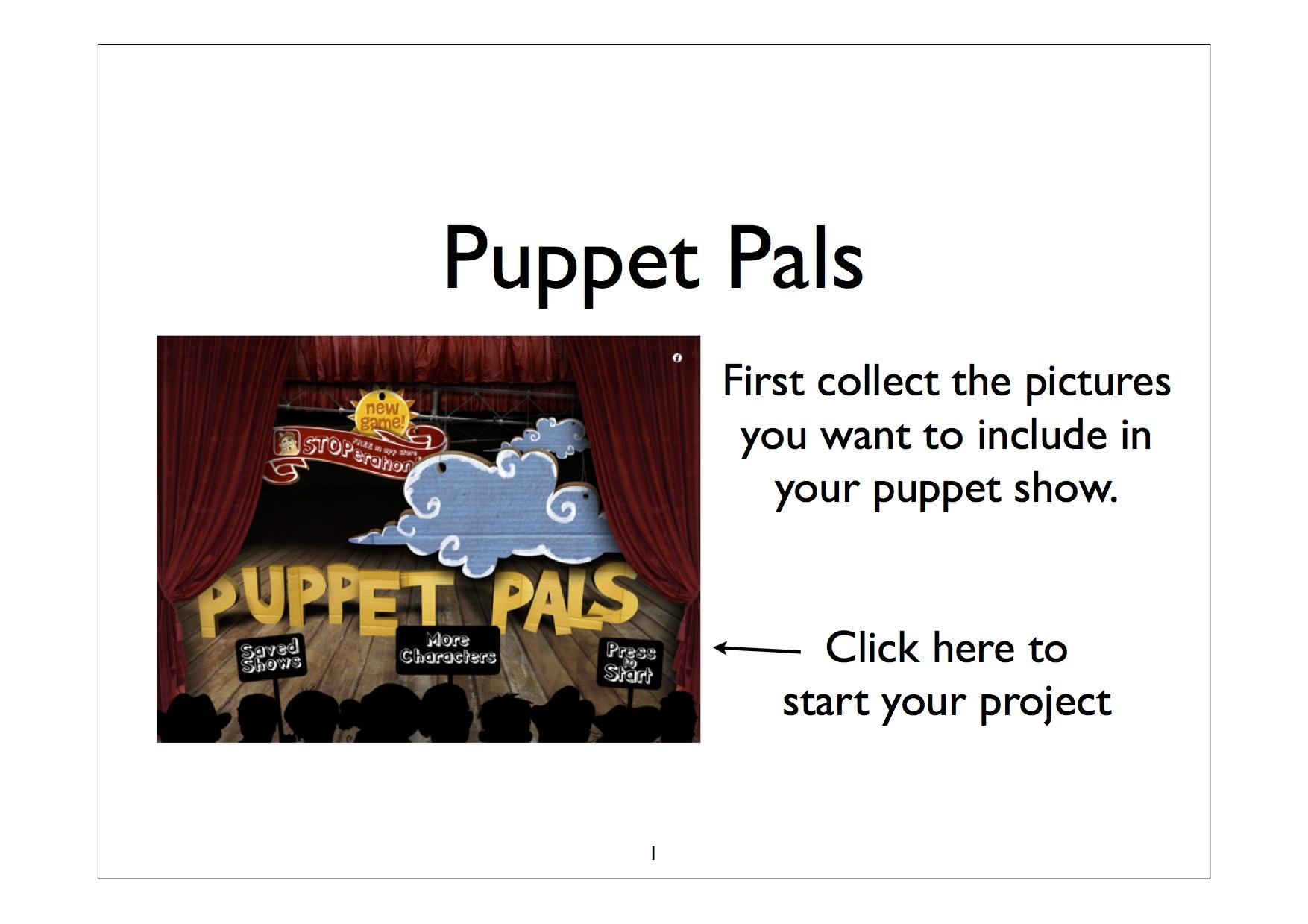 puppet pals badge - abingdon