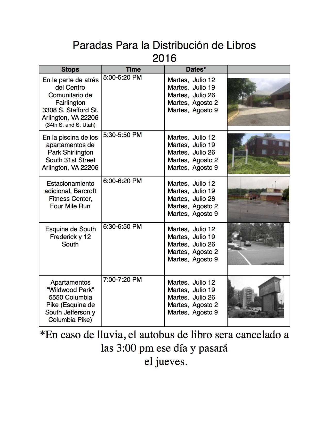 PDF Book Bus Flyer 2016 Spanish