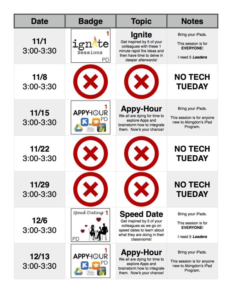 Tech Tuesday 2016-2017 2