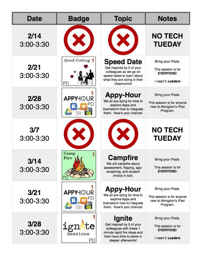 Tech Tuesday 2016-2017 4