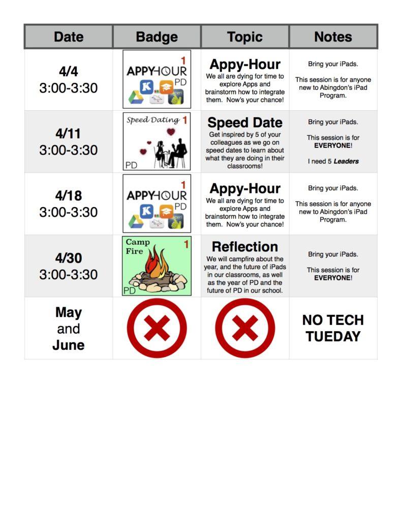 Tech Tuesday 2016-2017 5