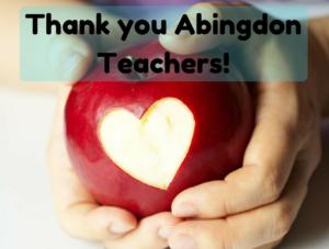 Thank you Abingdon Teachers!