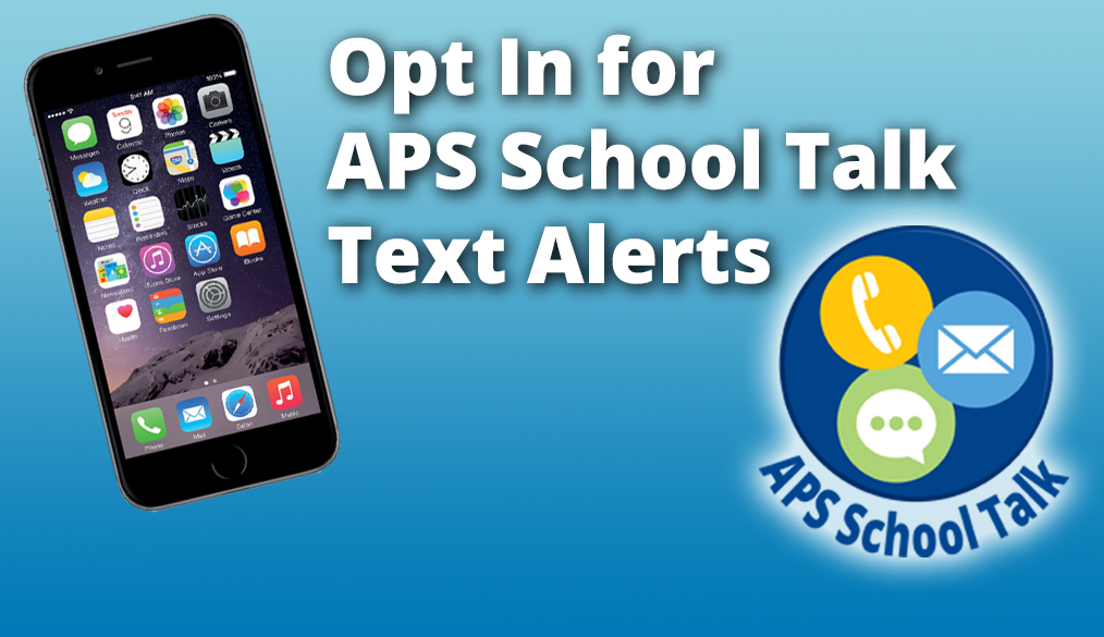 Opt In for APS Texts