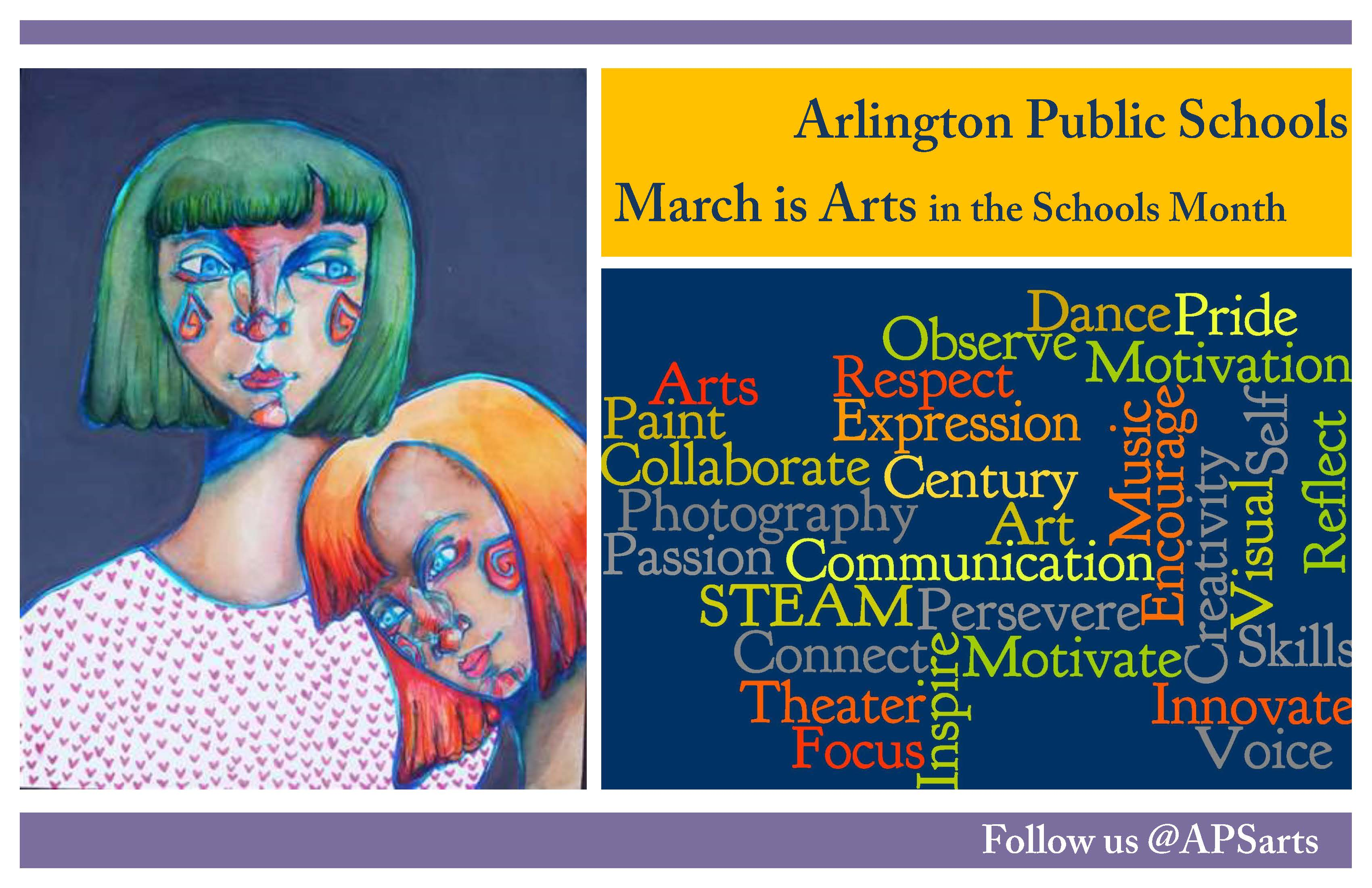 Celebrate the Arts this Month!