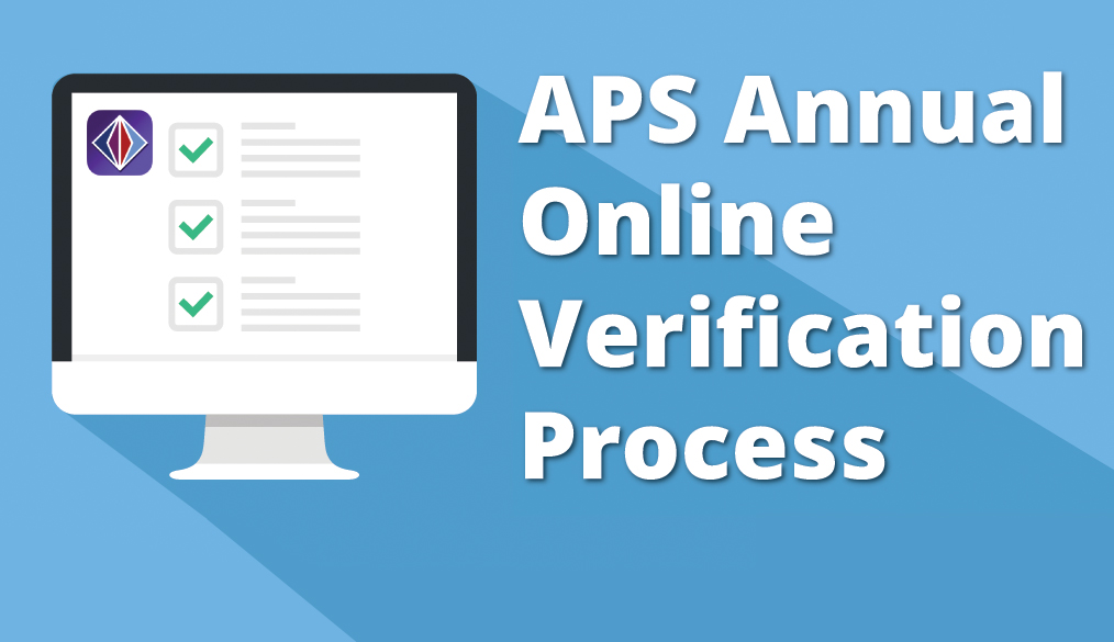 Get Ready for the New Annual Online Verification Process