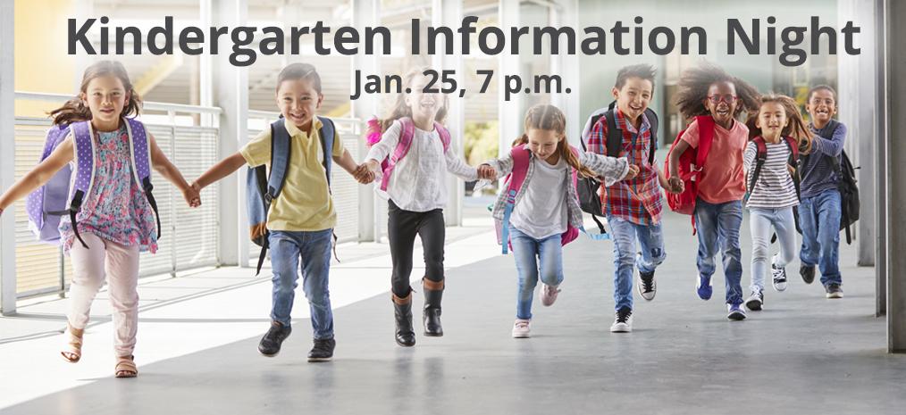 Learn about Kindergarten Information Night!