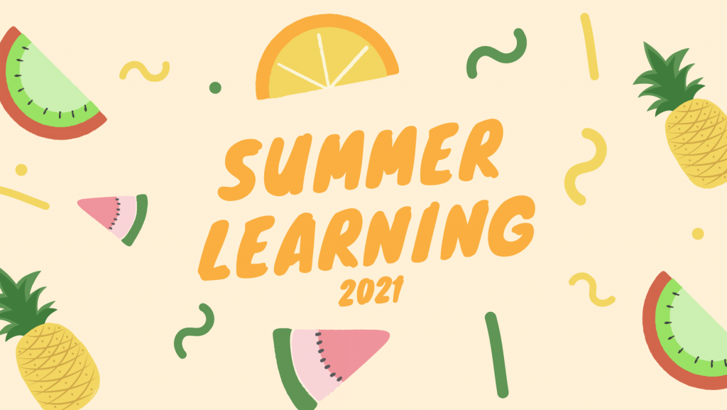 Summer Fun Illustrated Facebook Cover